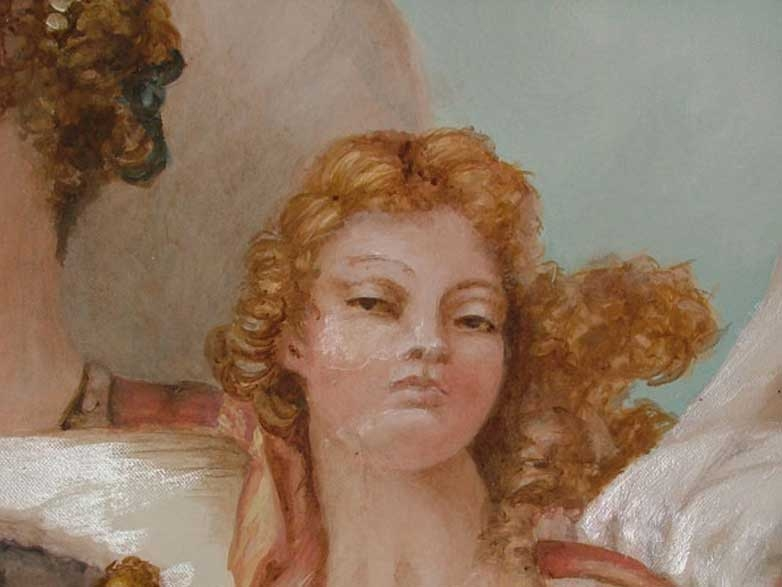 Inspired by Tiepolo (detail)