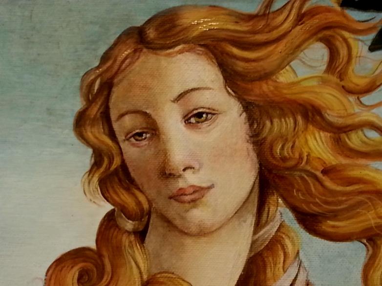 Ispirazione da Botticelli (particolare)