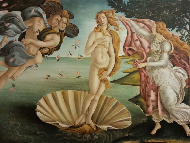 Inspired by Botticelli (Rome)